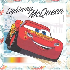 Lighting McQueen puzzle colouring set 001